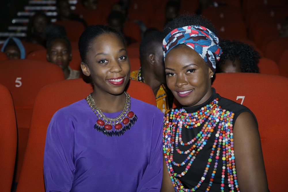 Both Malaika Nyanzi (L) and Nisha Kalema are up for awards courtesy of their stellar performanes