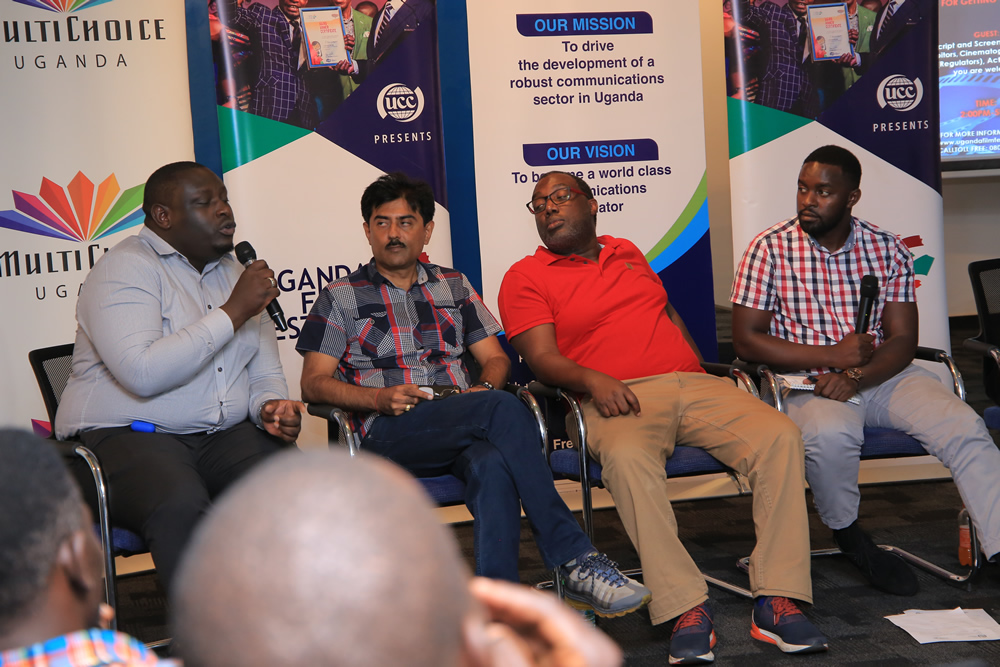 Ugandan filmmakers tipped on how to market their films